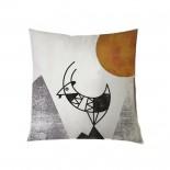 Animalia  Kri-Kri Cushion 27 x 27 cm (Multicolor) - A Future Perfect