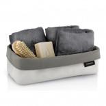 ARA Reversible Storage Basket L (Sand / Taupe) - Blomus
