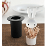 Magic Bunny Toothpick Holder (Black) - Alessi