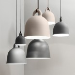 Bell Pendant Lamp Medium (Grey) - Normann Copenhagen