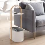 Bellwood Storage Table (White / Natural) - Umbra