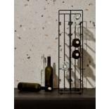 Pilare Wine Bottle Storage Unit for 12 bottles (Black) - Blomus