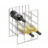 Pilare Wine Bottle Storage Unit for 9 bottles (Matt Steel) - Blomus
