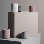 Scented Candle FRAGA L Rose & White Musk - Blomus