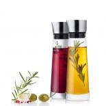 Alinjo Oil and Vinegar Set (Stainless Steel & Glass) - Blomus