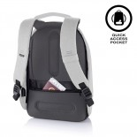 Bobby Hero Spring Anti-Theft Backpack (Light Grey) - XD Design