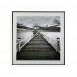 Bridge Framed Wall Art 50 x 50 cm (Glass) - Versa