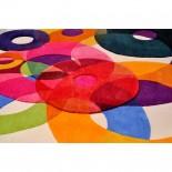 Bubbles Outline Rug - Sonya Winner Studio