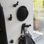 Bubbles Wall Hangers Set of 5 (Black Lacquered) - Mogg