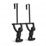 Buddy Over The Door / Wall Hook (Black) - Umbra