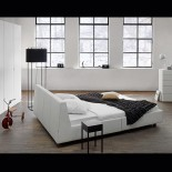 Calmo Leather Bed - Team by Wellis