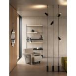Cima Suspension Floor Lamp (Silver) - Lodes