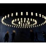 Cirio Circular Hanging LED Lamp - Santa & Cole