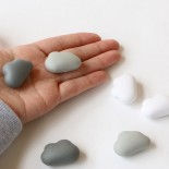 Cloud Magnets (Set of 6) - Qualy