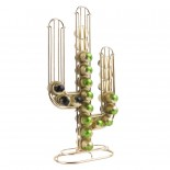 Cactus Coffee Capsule Holder (Gold) - Present Time