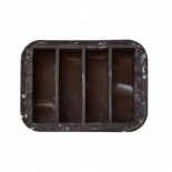 Collins Ice Tray (Marble Black) - W&P