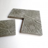 Paris Fragments Concrete Coasters (set of 4) - A Future Perfect