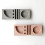 Concrete Desk Organizer (Pink) - A Future Perfect