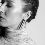 Conexión Earrings (Black) - Walker Chao