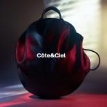 Moselle Alias Rucksack Cowhide Leather Agathe Black - Côte&Ciel