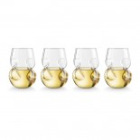 Counudrum White Wine Glasses (Set of 4) - Final Touch