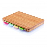 Cutting Board with 4 pcs hygienic boards - XD Design