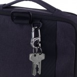 D-CLICK Carabiner Keyring with Click Mechanism - Troika
