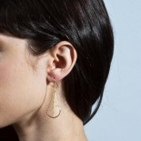 Dichotomous Earrings (Gold) - Nervous System