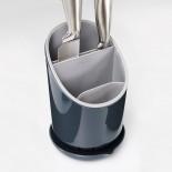 Dock™ Cutlery Drainer and Organizer (Grey) - Joseph Joseph