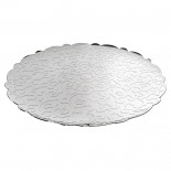 Dressed Round Tray (Stainless Steel) - Alessi