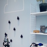 Dropit Large Hook Set of 2 (Black) - Normann Copenhagen-Black