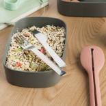 Dual Bento Lunch Box Set (Grey) - BerHOFF