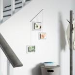 Exhibit Wall Photo Display Set of 3 (White) - Umbra