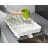 Extend™ Dish Drainer (White) - Joseph Joseph