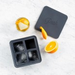 Extra Large Ice Cube Tray (Charcoal) - W&P
