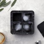 Extra Large Ice Cube Tray (Marble Black) - W&P