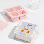 Extra Large Ice Cube Tray (Speckled Pink) - W&P