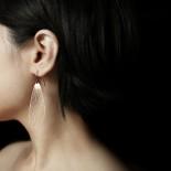 Fan Earrings M (Gold) - Moorigin