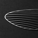 Fan Pendant L (Silver) - Moorigin