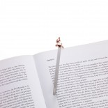 Fawn Rose Gold Bookmark (Stainless Steel) - Troika