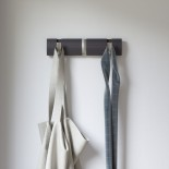 FLIP 3 Hook Coat Rack (Driftwood / Nickel) - Umbra
