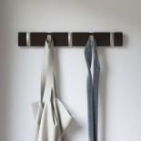 FLIP 5 Hook Coat Rack (Espresso) - Umbra
