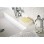 Float Silicone Soap Tray (White) - Yamazaki