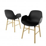 Form Armchair Oak - Normann Copenhagen