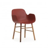 Form Armchair Walnut - Normann Copenhagen