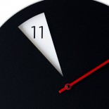 Freakish Wall Clock (Black / Red) – Sabrina Fossi Design