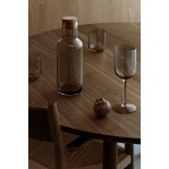 FUUM Set of 4 Red Wine Glasses 400ml (Smoke Glass) - Blomus