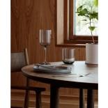 FUUM Set of 4 White Wine Glasses 280ml (Smoke Glass) - Blomus