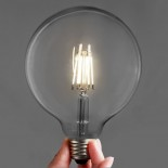 G125 Dimmable Vintage LED E27 Round Bulb 4 Watt
