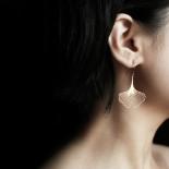 Ginkgo Earrings S (Gold) - Moorigin